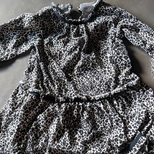 Hanna Andersson 🐆 Leopard Dress